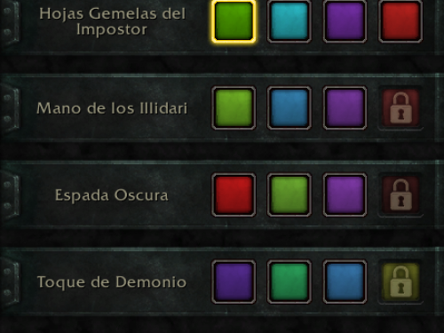 Apariencias del Arma de Artefacto en Battle for Azeroth