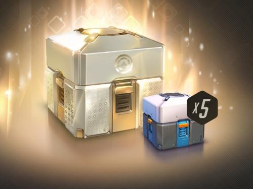 Overwatch: 1 caja legendaria + 5 cajas de botín