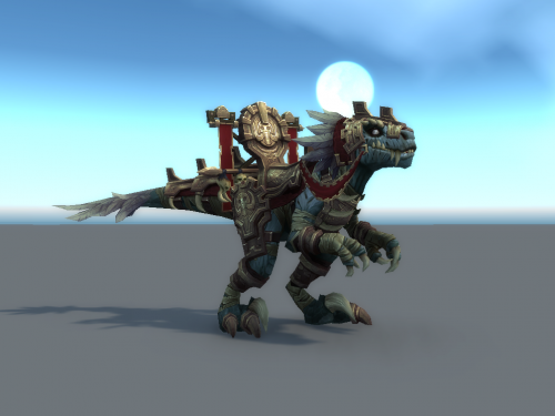 Battle for Azeroth: Nueva Montura Raptor