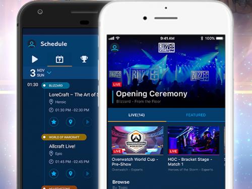 Ya se puede descargar la Aplicación para Móviles de la BlizzCon 2017
