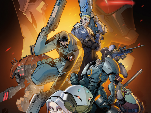 Novela Gráfica de Overwatch: ¡Cancelada!