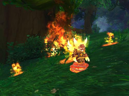 Fragmento de Fuego: Duelo de Mascota