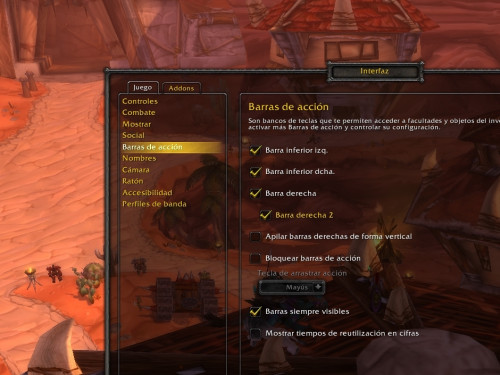 BattleForAzerothUI, addon para cambiar la interfaz de Classic