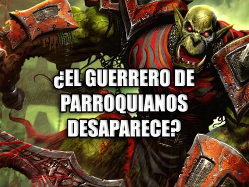 ¿El Guerrero de Parroquianos desaparece?