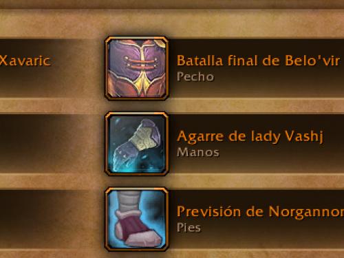 Próximos cambios a los legendarios en los RPP de Warcraft