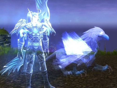 Grifo Espectral Perdido: Mascota de Cazador