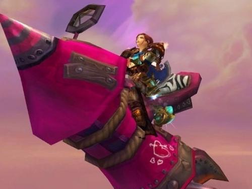 Amor en el Aire: ¡El Gran cohete de amor lo pueden conseguir jugadores de nivel 110 o superior!