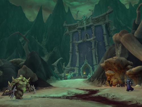 Shadowlands: Escena de Maldraxxus