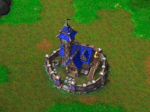 Guía de Warcraft III Reforged: Edificios de los Humanos