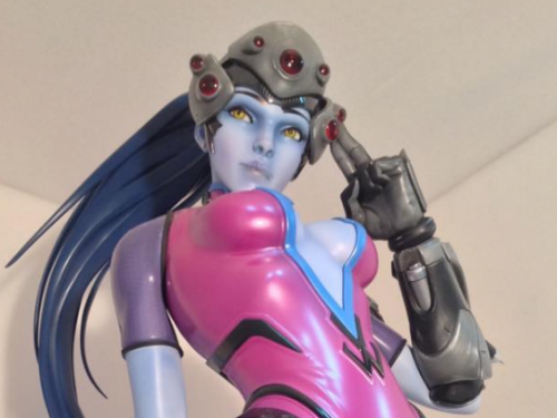 Estatua de Widowmaker: Gamescom 2016