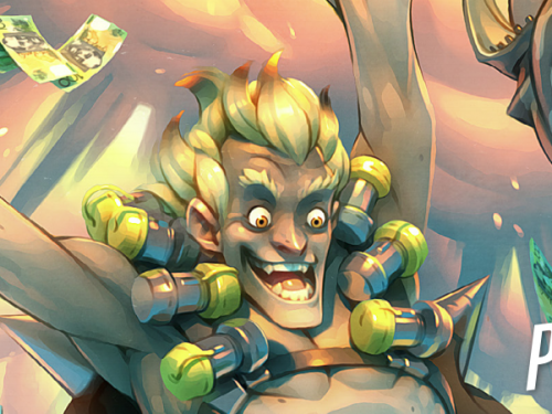 Cómic Overwatch: Junkrat y Roadhog - Por lo legal
