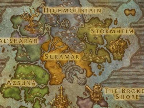 Mapas de Legion: Primeros datos de la Beta