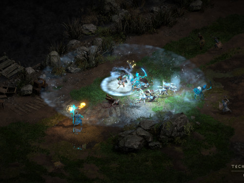 Nuevas imágenes de Diablo II: Resurrected - Pase de Prensa de la alfa técnica