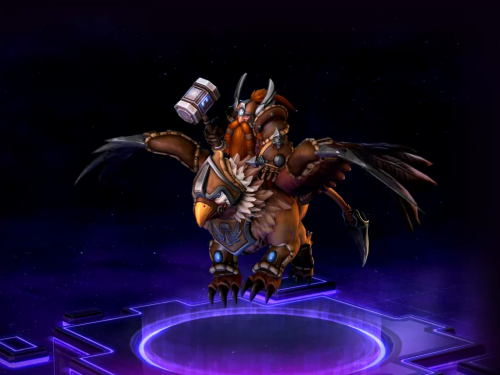 Sorteo CXXVI: ¡Consigue a Falstad Stormlord para Heroes of the Storm!