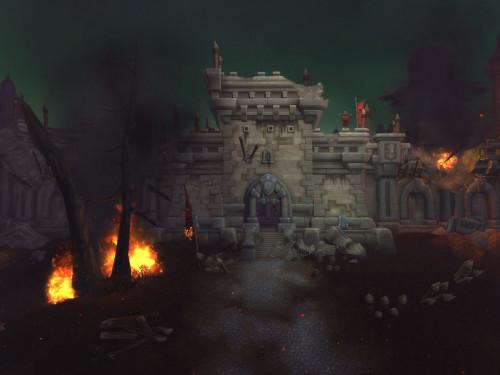 Battle for Azeroth: Claros de Tirisfal tras la Batalla por Lordaeron