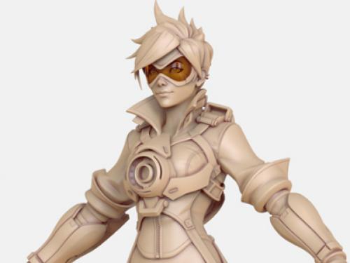 Arte de los Personajes de Overwatch
