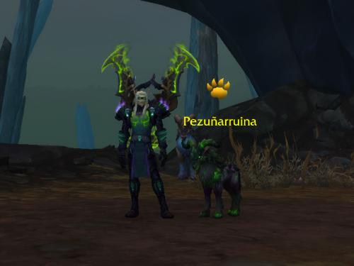 Pezuñarruina: Duelo de Mascota
