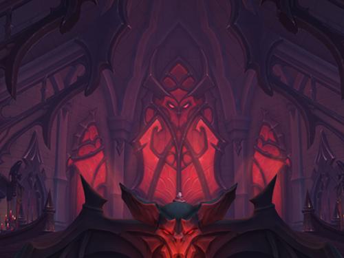 Vista Preliminar de las Salas de la Expiación - Mazmorra de Shadowlands