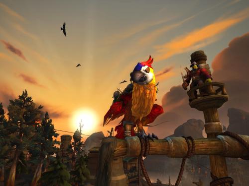 Gameplay en Battle for Azeroth: Fuerte Libre