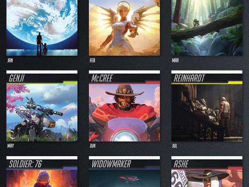 ¡Calendario 2020 oficial de Overwatch ya a la venta!