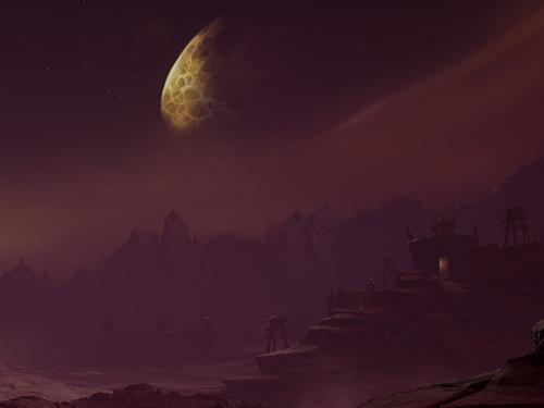 ¡Recreación de Península del Fuego Infernal en Unreal Engine 4!