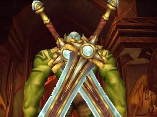 Vista preliminar de las nuevas espadas de la Mano de Plata