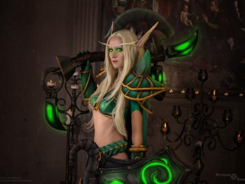 Cosplay Elfa de Sangre: Feyische Cosplay