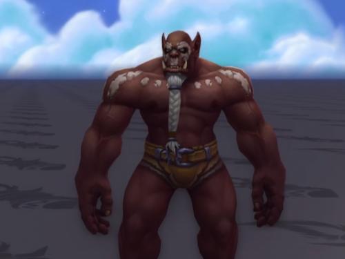 Battle for Azeroth: Orco Erguido en la nueva actualización de la Alpha
